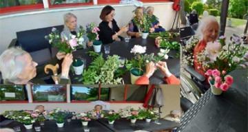 Orpea val de seine atelier floral
