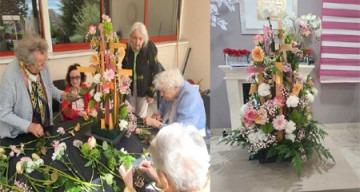 Orpea val de seine fleurs