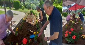 Orpea val de seine jardinage