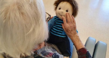 Orpea La Camargue poupée empathique