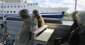 Orpea Les Rives Saint Nicolas sortie bateau