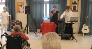Orpea Les Rives Saint Nicolas concert