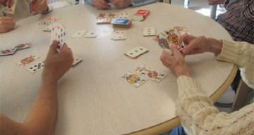 Orpea Les Rives Saint Nicolas jeux cartes
