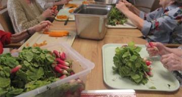 Orpea Les Rives Saint Nicolas légumes