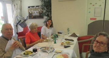 Orpea Les Rives Saint Nicolas repas