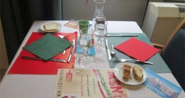 Orpea Les Rives Saint Nicolas repas italie