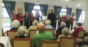 Orpea Les Rives Saint Nicolas spectacle chorale