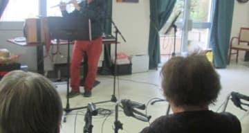 Orpea Les Rives Saint Nicolas spectacle musical