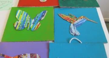 Orpea Les Rives Saint Nicolas tableaux creatifs