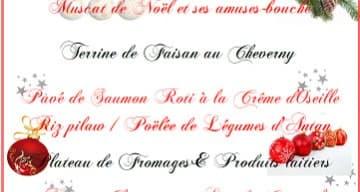 Orpea Résidence du Moulin repas noël