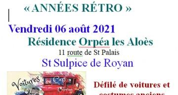 Orpea Les Aloès août 2021