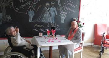Orpea Le verger d'Anna 70 ans mariage
