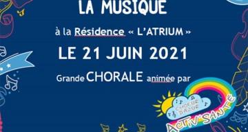 Orpea L'Atrium fête musique