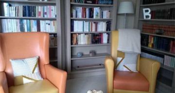 Orpea Les Vignes bibliothèque
