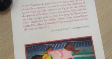 Orpea Les Vignes couture