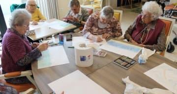 Orpea La Villa des pins Arthérapie juin 2019