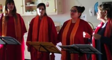 Orpea Le Clos d'Aliénor concert gospel
