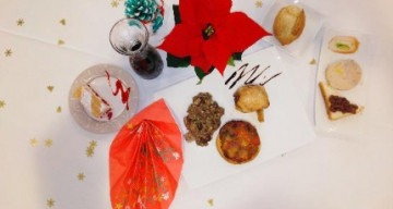 Orpea Le Clos d'Aliénor repas Noël