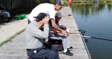 Orpea Le Clos d'Aliénor sortie pêche