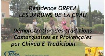 Orpea Les Jardins de la Crau traditions camarguaises