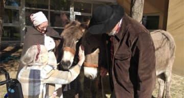 Orpea les jardins du Mazet médiation animale