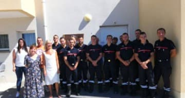 Orpea Victoria pompiers