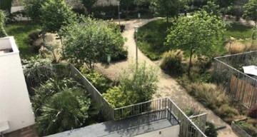 Orpea Castagnary espaces extérieurs