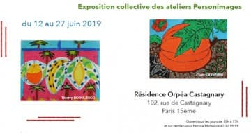 Orpea Castagnary exposition miam