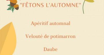 Orpea La Pastorale menu thème