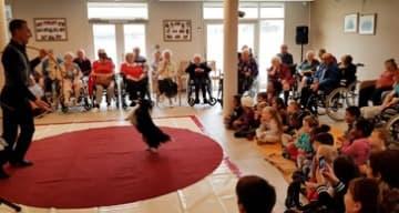 Orpea résidence de l'Isle fête gastronomie journée mondiale animaux