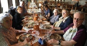 Orpea résidence de l'Isle fête gastronomie