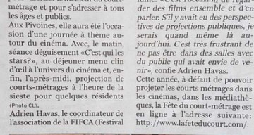 Orpea Les Pivoines court-metrage