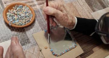Orpea les tamaris atelier mosaïque