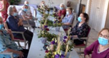 Orpea les maraîchers atelier floral