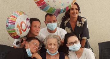 Orpea docteur Hallot anniversaire 100 ans