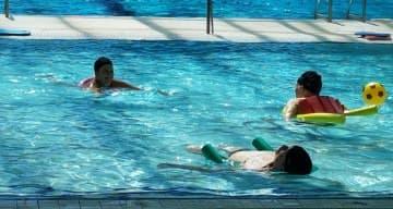 Orpea Les Mangolias - Sortie à la piscine - août 2019