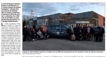 Orpea L'Hermitage partenariat club handisport forézien
