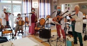 Orpea L'Emeraude musique irlandaise