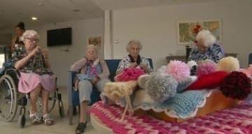 maison de retraite ORPEA Ollioules atelier tricot