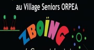 spectacle village seniors ORPEA saint remy