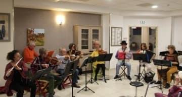 Concert à la maison de retraite ORPEA de Parignargues