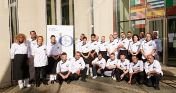 finalistes ORPEA CLINEA concours culinaire 2019