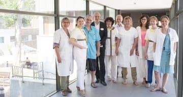 Equipe clinique clinea lyon champvert juin 2015