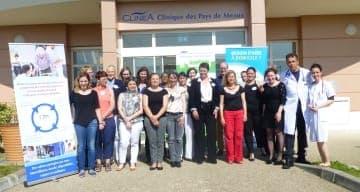 Conférence ORPEA CLINEA à la Clinique SSR de Mareuil les Meaux