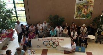Les olympiades de la Clinique CLINEA SSR de Viry Chatillon