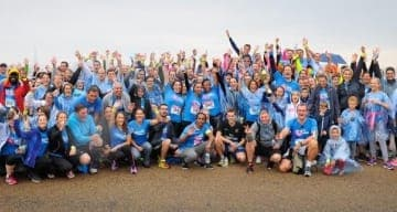 Les équipes ORPEA à la course enfants sans cancer 2016