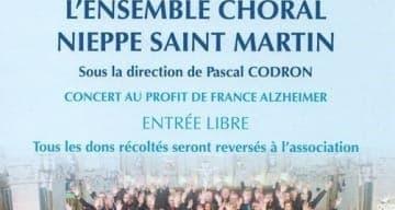 Concert ORPEA à Saint Omer au profit de France Alzheimer