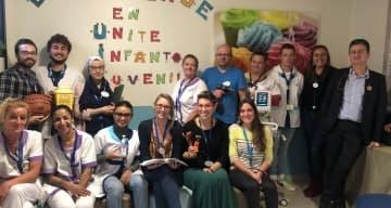 Equipe CLINEA de la Clinique Lautréamont à Loos